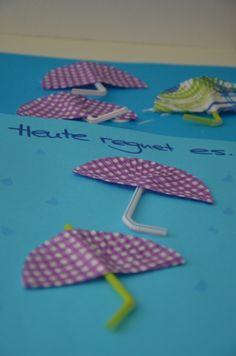Und das benötigt man für die Regenschirme aus der Küche: bunte Muffinförmchen blauesPapier in A4 blaue Filzstifte bunte Strohhalme Bastelkleber Und so gelingen die Regenschirme aus der Küche: Es ist wirklich ganz simpel, man muss die Muffinförmchen nur in der … weiterlesen