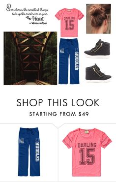 """""""Untitled #3570"""" by loopyloser ❤ liked on Polyvore featuring Victoria's Secret and Scotch & Soda"""
