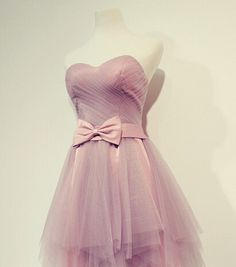 Image of Adorable Short Tulle Handmade Formal Dresses, Homecoming Dresses, Mini Dresses