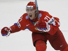 Kovalchuk representing Russia
