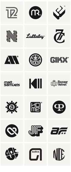 Logo Inspiration // Logos & Marques 2010