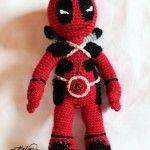 Free Crochet Pattern – DeadPool – Jucarie Crosetata