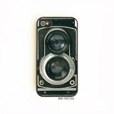 iPhone 4 Case. iPhone 4S Case.Retro Twin Reflex by onyourcasestore, $17.99
