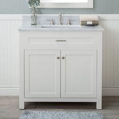 "Cecilton 36"" Single Bathroom Vanity Set"