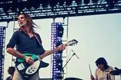Tame Impala perform at Coachella in Indio, California on April 14th, 2013.