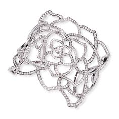 White gold Diamond Cuff bracelet - Piaget Luxury Jewellery G36L5400