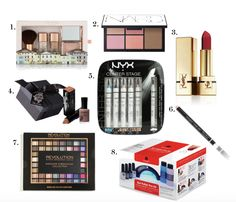 Christmas Gift ideas - Cosmetics theldndiaries.com