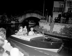 Police boat 1950's Texas History, Historical Society, Diversity, San Antonio, Places To Go, Police, Nostalgia, Boat, Events