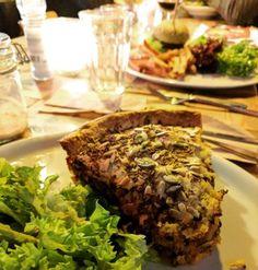 Cafe de Ceuvel - Amsterdam vegetarian restaurant review