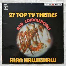 ALAN HAWKSHAW 27 Top Themes & Commercials STUDIO 2 STEREO LP '72 ORGAN FUNK…