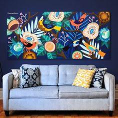 Rome – Graffiti World Mural Art, Wall Murals, Arte Floral, Grafik Design, Bird Art, Painting Inspiration, Flower Art, Painting & Drawing, Art Projects