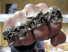 Dead Ringers' Evil Skull Jewelry