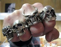 Dead Ringers' Evil Skull Jewelry is a Must-Have for Rockstars trendhunter.com