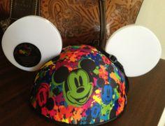 Disneyland Glow with the Show Flashing LED Mickey Ears Hat Disney