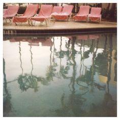 Polaroid Photograph - Summer - Swimming Pool - Polaroid Swimming Pool Photograph- Tuesday's Today- Alicia Bock