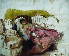 A Shy Peasant - Ilya Repin - WikiPaintings.org Ilya Repin, Oil Painters, Art Database, Realism Art, Russian Art, Figure Painting, Portrait, Art And Architecture, Art World
