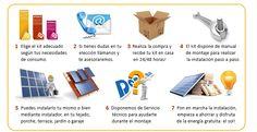 kit solar autoconsumo - energia paneles solares fotovoltaicos