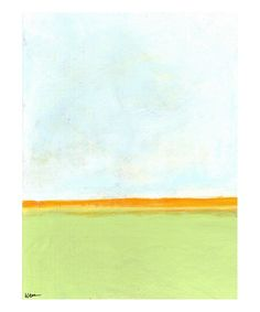 Big Sky 2 Giclee Print by Jan Weiss at Art.com