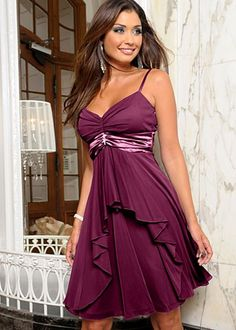 Another dress I'm thinking about ordering. Love the color.