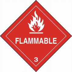 Symbol of flammable