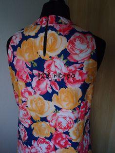 #prendisole in cotone a motivi floreali - 123ricreo