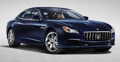 Maserati Quattroporte Gets A Minor Stylish Update #Maserati #Maserati_Quattroporte