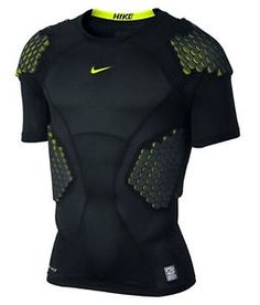 3c07995df82700 Nike pro combat hyperstrong four pad 13 football rugby shirt extra large