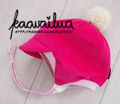 Kaavailua - ompelusta ja sen vierestä.: Hattu. Kids Clothes Patterns, Coat Patterns, Pdf Patterns, Clothing Patterns, Warm Outfits, Cool Outfits, Toddler Outfits, Kids Outfits, Baby Kids