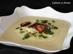 <p>Supa+crema+de+cartofi+nu+este+complicata.+Cand+folosim+ingrediente+de+calitate+si+punem+si+putina+pasiune+in+pregatirea+ei…vom+avea+cea+mai+gustoasa+supa.+Ingrediente:+–+1+kg+cartofi+–+1+ceapa+mare+sau+2+mai+mici+–+50+g+cascaval+sau+branza+Cheddar+–+50+g+faina+alba+…</p>