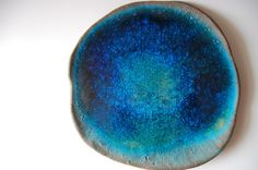 beautiful handmade ceramic platter