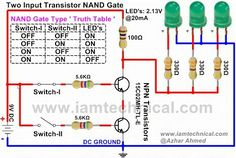Simple Light Sensor Circuit with Applications   Light sensor circuit ...