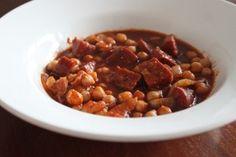 Tapas recept chorizo en kikkererwten #nomnom #tapa #recept #foodblog #foodinista