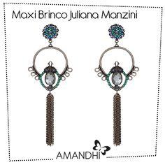 Maxi Brinco Juliana Manzini Franjas | Amandhí | www.amandhi.com |