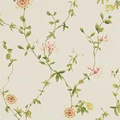Sanderson Passion Flower Tapet