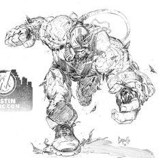 Bane by Greg Capullo http://frikinianos.es/bane-by-greg-capullo/ #bane #batman #comic #dc #ilustration #gregcapullo #capullo