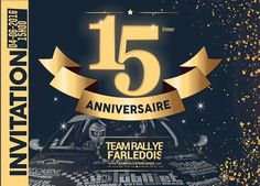 Réalisation du #flyer du Team Rallye Farledois pour les 15 ans de cette association sportive. - http://ift.tt/1HQJd81
