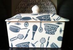 Emma Bridgewater Conran Utensils Butter Dish (07/27/2013)
