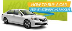 How to Buy a Car - a Step-By-Step Buying