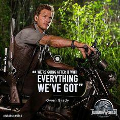 Jurassic World - Owen Grady on going after the I-Rex