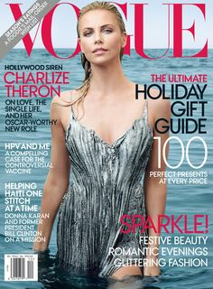 Definitely beautiful Charlize Theron on Vogue US June 2014 Cover