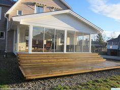 Flat Ideas, Garage, Conservatory, Sunroom, Outdoor Gardens, Terrazzo, Sweet Home, Deck, Yard