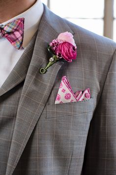 18 Chic Monochromatic Wedding Ideas - Inspired By This Bow Tie Wedding, Wedding Men, Wedding Groom, Wedding Suits, Wedding Attire, Wedding Ideas, Gingham Wedding, Wedding Inspiration, Wedding 2017