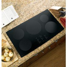 """View the GE PHP960 Profile 36"""" Electric Induction Cooktop with Electronic Touch Controls And Pan Presence Sensor at Build.com."""
