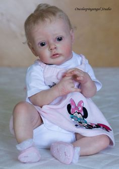Reborn newborn baby girl doll sold out LE Chloe sculpt by Natali Blick  ADORABLE 73de3f622ef