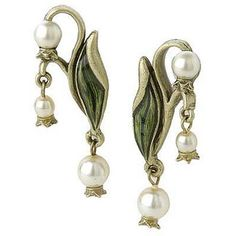 http://www.overstock.com/Jewelry-Watches/Sweet-Romance-Art-Nouveau-Lily-of-the-Valley-Earrings/3169351/product.html?CID=214117 $30.14
