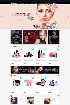 Leo Cosmetics Prestashop, best theme, prestashop version 1.6.0.8, Responsive ,