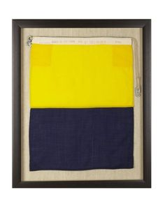 """Signal Flag Kilo - means """"I Wish to Communicate With You"""" #williamssonoma"""