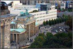 Brandenburger Tor, das wohl bekannteste Wahrzeichen von Berlin