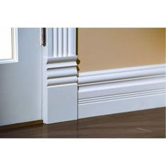 House of Fara 1 in. x 4-1/2 in. x 8 in. MDF Victorian Plinth Block Moulding-P450MDF at The Home Depot BASEMENT BASEBOARDS