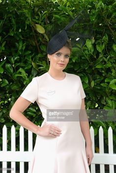 Lady Kitty Spencer attends day 3 of Royal Ascot at Ascot Racecourse on June 16, 2016 in Ascot, England.